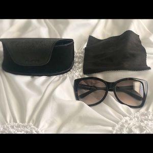Dark Havana Carli Tom Ford Oversize Glasses